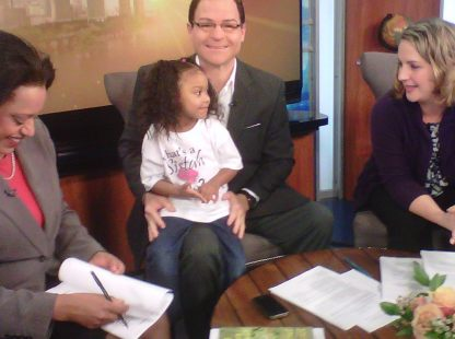 Cori Promoting What's a Sister 2 do? on Channel 6 News