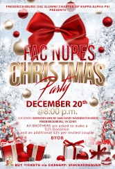 FAC CHRISTMAS PARTY